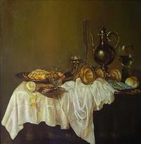 Завтрак (голландский натюрморт)
