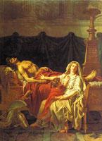 Андромаха оплакивает Гектора