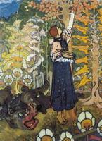 Зверь (Е.Д. Поленова, 1895-1898 г.)
