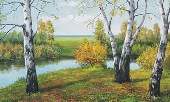 Живописный пейзаж