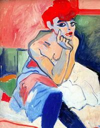 Танцовщица (А. Дерен, 1906 г.)