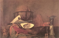 Атрибуты науки (Ж.С.Б. Шарден, 1731 г.)