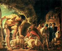 Одиссей в пещере Полимефа (Якоб Йорданс)