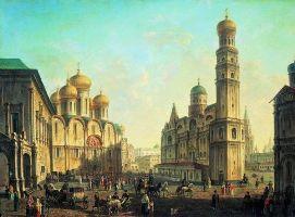 Алексеев Ф.Я. Вид на грановитую палату 1811