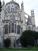 Бурж - кафедральный собор Сент-Этьенн