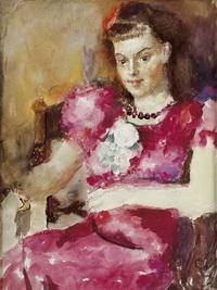 Портрет Н.А. Кравченко (А. Фонвизин, 1950-е г.)