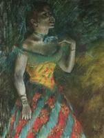 Певица в зеленом (Эдгар Дэга)