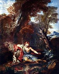 Эхо и Нарцисс (Никола Пуссен)