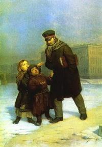 Дети-нищие (Ф.С. Журавлев)