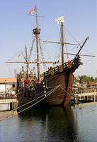 Реплика корабля Санта-Мария