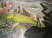 Пейзаж и странник (Евгений Зак)
