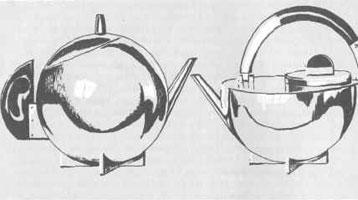 Модели чайников (М. Брант 1924 г.)