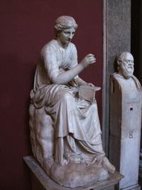 Каллиопа, муза эпической поэзии и науки