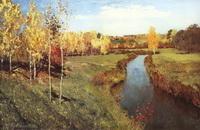 Золотая осень (И.И. Левитан, 1895 г.)