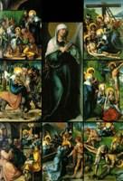 """Картина """"Семь Скорбей Марии"""" Альбрехта Дюрера, 1494-1497 гг"""