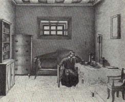 Одоевский А.И., в камере Ф.Б. Фольфа в Петровской тюрьме