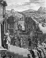 Кассандра предупреждает Троянцев (Б. Пикар)