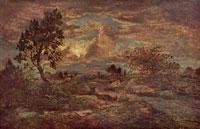 Закат близ Арбонна (Т. Руссо)