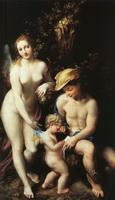 Венера, Меркурий и Купидон