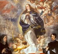 Хуан де Вальдес Леаль. Вознесение Девы Марии