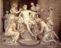 Апполон и нимфы'' (скульптор Франсуа Жирардон; барокко,1662-72гг