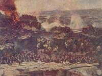 Осада Севастополя (Деталь панорамы Франца Рубо)