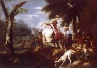 Встреча Исаака и Реввеки (Дж. Б. Кастильоне)
