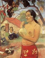 Таитянка, держащая плод (П. Гоген)