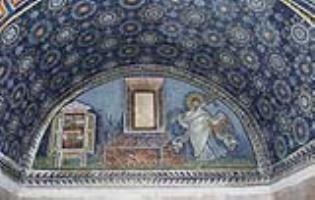 Мозаика северного люнета мавзолея Галлы Плацидии в Равенне
