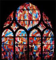 Витраж в церкви Сен-Северен (Ж. Базен)
