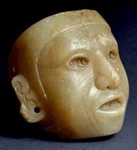 Гипсовая маска из Теночтитлана