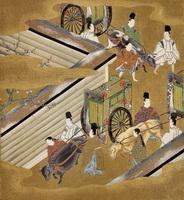 Иллюстрация к Повести о Гендзи (Тоса Митсуоси)