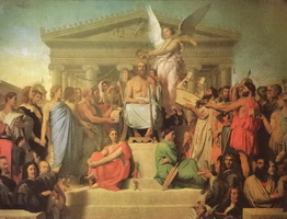 Апофеоз Гомера (Ж.О.Д. Энгр, 1827 г.)