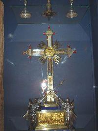 Санта-Кроче-ин-Джерусалемме. Реликварий с частью Животворящего Креста