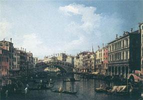 Мост Риальто (Д.А. Каналетто)