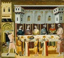 Казнь Иоанна Крестителя и принесение его головы Ироду