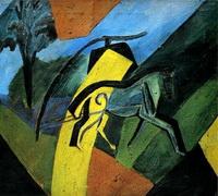 Лошадь-молния (Д. Бурлюк, 1907 г.)