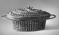 Корзиночка (серебро, скань, 1806 г.)