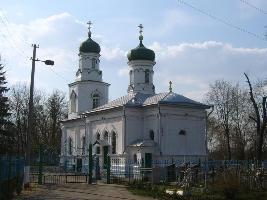 Одно из сохранившихся зданий в стиле русского барокко