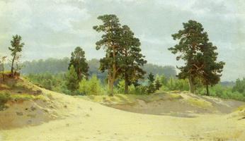 Опушка леса (И.И. Шишкин, 1890 г.)