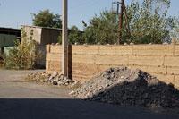 Забор из самана