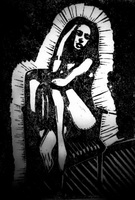 Девушка на стуле (А. Гершун)