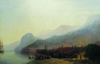 Алушта (И.К. Айвазовский, 1878 г.)