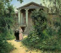 Бабушкин сад (В.Д. Поленов)
