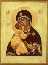 Икона Владимирская