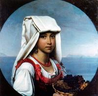 Неаполитанская девочка с плодами (О.А. Кипренский)
