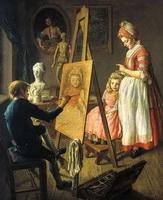 Юный живописец (И. Фирсов, 1760-е г.)