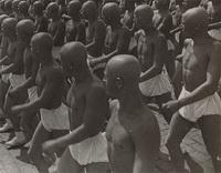 Спортсмены на Красной площади (А.М. Родченко, 1935 г.)