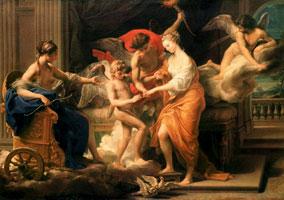 Бракосочетание Амура и Психеи (П.Д. Батони)
