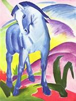 Синий конь (Ф. Марк, 1911 г.)